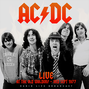 ACDC Live At Waldorf 1977 CD