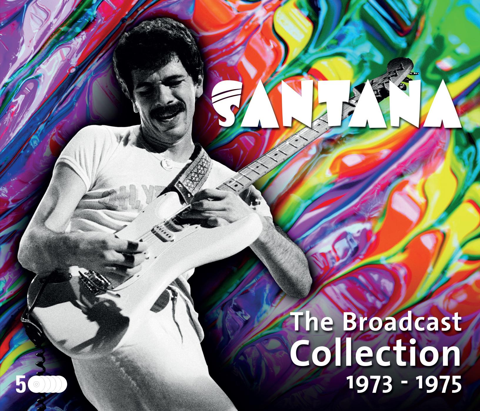 Santana - The Broadcast Collection 1973-1975 - CD - Inlay