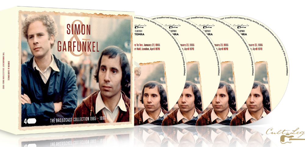 Simon and Garfunkel The Broadcast Collection