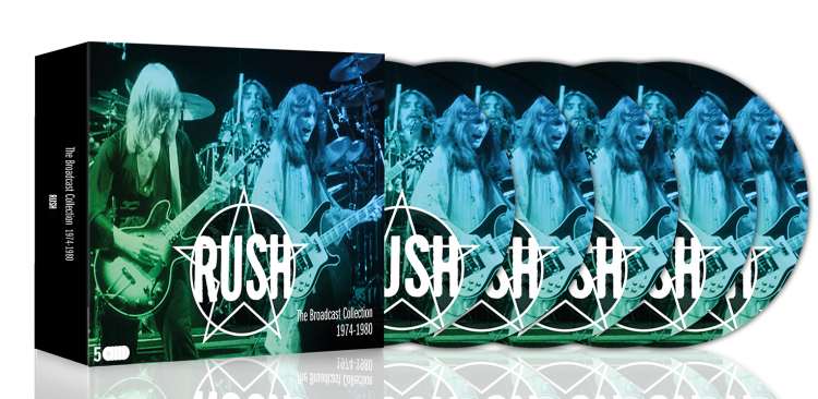 Rush Broadcast Collections 3D web