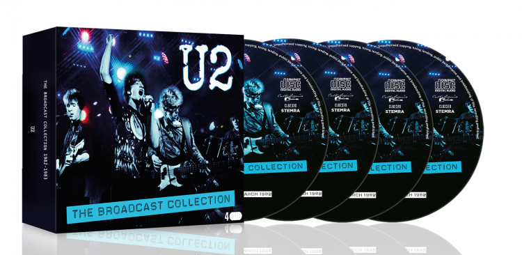 U2 Broadcast Collections 3D web