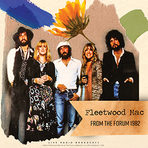 Fleetwood Mac Vinyl Record From The Forum 1982 by Cult Legends