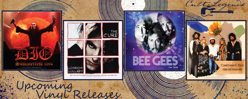 Cult Legends Vinyl Releases April 2021